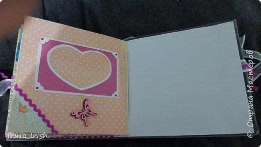 Работы и замечательные мастер-классы Vica-handmade http://stranamasterov.ru/user/283553 вдохновили меня на попытку сделать альбом. Альбом планировался как свадебный, но получился больше как Love story.  фото 13