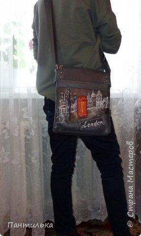 """Летняя сумка с объёмными цветами и пейзажем..."""" БЕЛЕЕТ ПАРУС..."""" фото 8"""