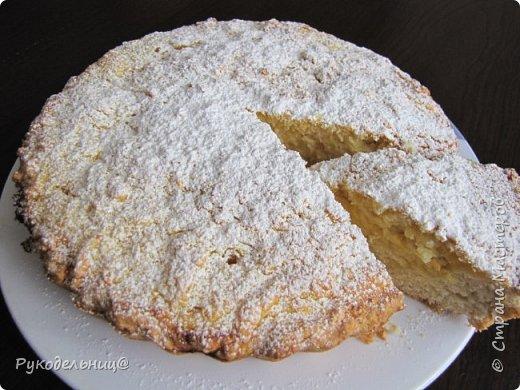 Всем добрый вечер. Я сегодня к вам с постным апельсиновым пирогом. Ароматный, мягкий и не скажешь, что он постный. Только в отличии от  не постных пирогов, это пахнет немного содой, что не очень приятно. А так очень вкусно, домочадцам всем понравилось.  фото 11