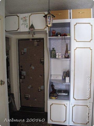 Из старого шифоньера-новый шкаф в прихожую!!!
