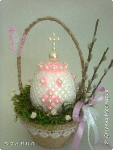 В нашей семье очень любят православные праздники: Рождество, Крещение, а особенно Пасху.  К светлому празднику Пасхи я хотела бы сделать маме подарок – бисерное яйцо.  фото 1