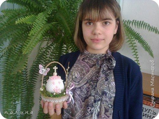 В нашей семье очень любят православные праздники: Рождество, Крещение, а особенно Пасху.  К светлому празднику Пасхи я хотела бы сделать маме подарок – бисерное яйцо.  фото 5