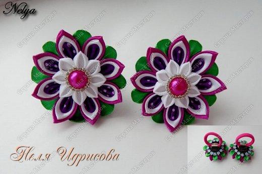 Весенние цветочки-резиночки