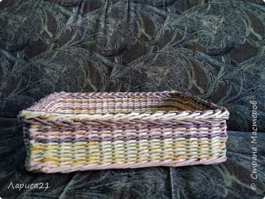 Я просто влюбилась в плетение из бумажной лозы. Мои первые работы. Глядя на работы других мастеров получаешь огромный заряд энергии и вдохновения))) фото 3