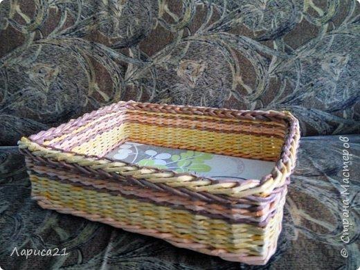 Я просто влюбилась в плетение из бумажной лозы. Мои первые работы. Глядя на работы других мастеров получаешь огромный заряд энергии и вдохновения))) фото 2