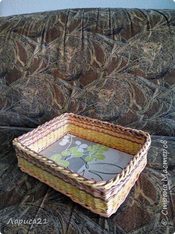 Я просто влюбилась в плетение из бумажной лозы. Мои первые работы. Глядя на работы других мастеров получаешь огромный заряд энергии и вдохновения))) фото 4