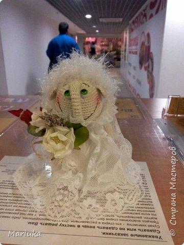 Доброго времени суток, дорогие жители СМ. такого ангелочка-кавалера связала в подарок подруге)))) фото 2
