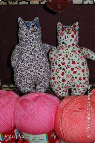Всем доброго времени суток. Вот такие котики у меня получились ко дню Святого Валентина(делали украшение к празднику на работе). фото 2