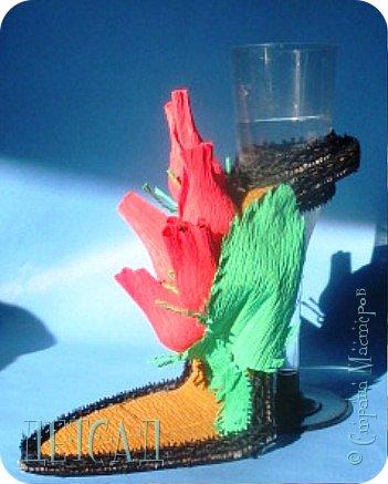 ....а почему бы не сделать к сладкой туфельке каблучок - фужер?!? фото 7