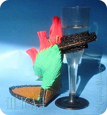 ....а почему бы не сделать к сладкой туфельке каблучок - фужер?!? фото 5
