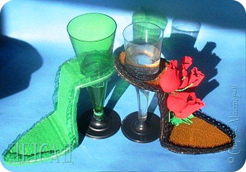 ....а почему бы не сделать к сладкой туфельке каблучок - фужер?!? фото 1