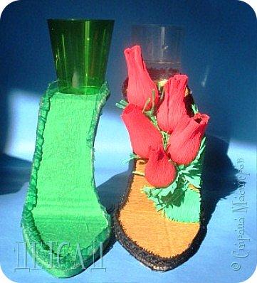 ....а почему бы не сделать к сладкой туфельке каблучок - фужер?!? фото 3