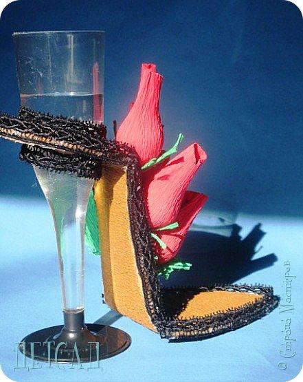 ....а почему бы не сделать к сладкой туфельке каблучок - фужер?!? фото 6