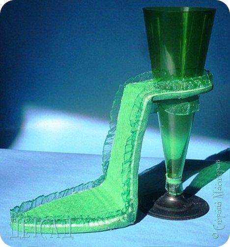 ....а почему бы не сделать к сладкой туфельке каблучок - фужер?!? фото 4