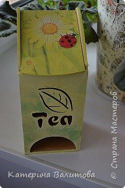 Здравствуйте дорогие мастерицы!Налюбовавшись чайными домиками,сделанными мастерицами нашей страны,я тоже приобрела заготовки и украсила их. фото 4