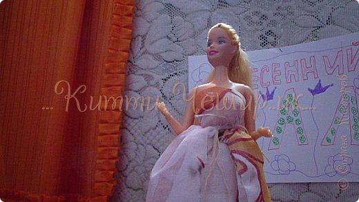 Привет!Мы сдаем эту  работу на конкурс ''Весенний бал Беатриче'!  В ВК наше платье оценили так :1/10 Но оно так задумано! фото 12