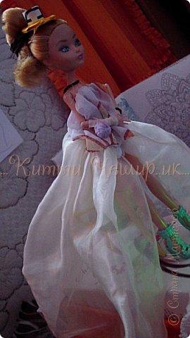 Привет!Мы сдаем эту  работу на конкурс ''Весенний бал Беатриче'!  В ВК наше платье оценили так :1/10 Но оно так задумано! фото 15