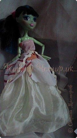 Привет!Мы сдаем эту  работу на конкурс ''Весенний бал Беатриче'!  В ВК наше платье оценили так :1/10 Но оно так задумано! фото 27