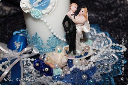 Вот такой у меня получился свадебный набор аксессуаров для потрясающей пары. фото 12