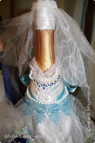 Вот такой у меня получился свадебный набор аксессуаров для потрясающей пары. фото 20