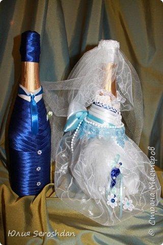 Вот такой у меня получился свадебный набор аксессуаров для потрясающей пары. фото 22