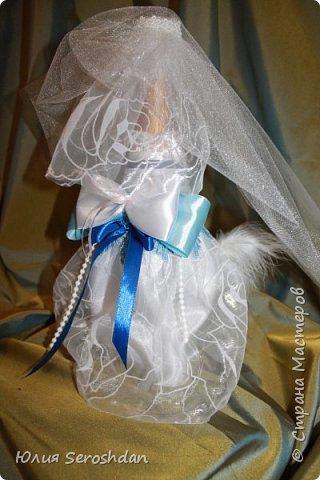 Вот такой у меня получился свадебный набор аксессуаров для потрясающей пары. фото 18
