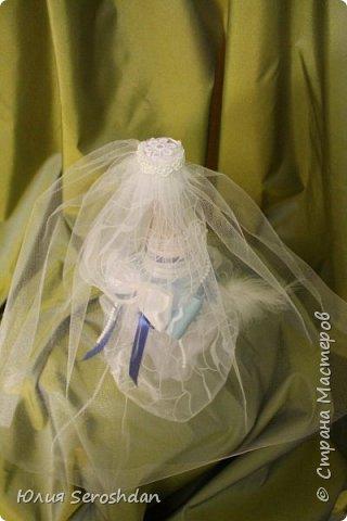 Вот такой у меня получился свадебный набор аксессуаров для потрясающей пары. фото 19