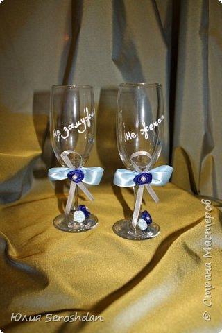 Вот такой у меня получился свадебный набор аксессуаров для потрясающей пары. фото 8