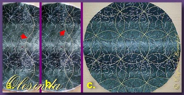Здравствуйте!  Продолжаю тему по созданию блока в технике «Кафедральные окна». Этот подвид данной техники, о котором далее пойдет речь, также имеет несколько своих названий, таких как «Круговая лоскутная», «Искусственные Кафедральные окна», «Макет Кафедральных окон» и «Ленивые Кафедральные окна». Основывается она на сшивании между собой лоскутных кругов, а не квадратов.  В этом мастер-классе я покажу вам 3 способа создания такого блока.  (Все приведенные ниже приемы придуманы не мной, я лишь собрала их для вас в одном посте.) фото 36