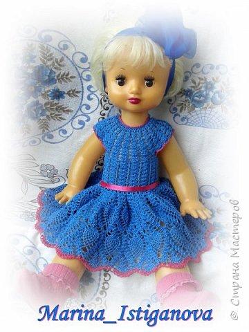 Продолжаю вязать наряды для своих любимых кукол. Начало было здесь http://stranamasterov.ru/node/926168.  фото 8