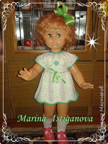 Продолжаю вязать наряды для своих любимых кукол. Начало было здесь http://stranamasterov.ru/node/926168.  фото 4