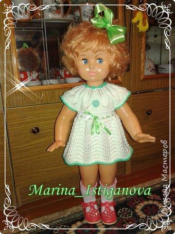 Продолжаю вязать наряды для своих любимых кукол. Начало было здесь http://stranamasterov.ru/node/926168.  фото 2