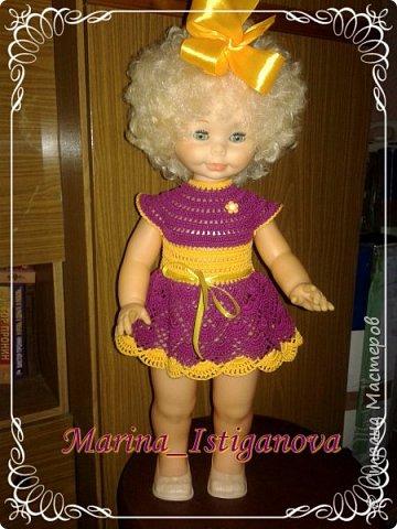 Продолжаю вязать наряды для своих любимых кукол. Начало было здесь http://stranamasterov.ru/node/926168.  фото 5