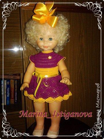 Продолжаю вязать наряды для своих любимых кукол. Начало было здесь http://stranamasterov.ru/node/926168.  фото 7