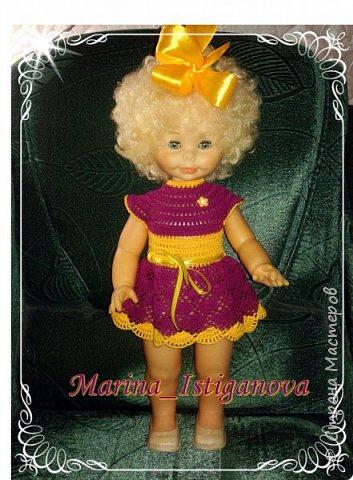 Продолжаю вязать наряды для своих любимых кукол. Начало было здесь http://stranamasterov.ru/node/926168.  фото 6