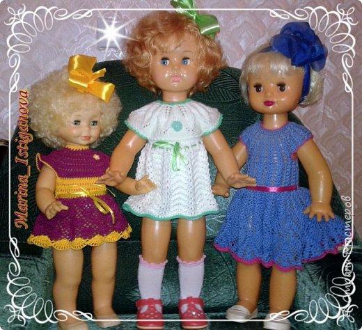 Продолжаю вязать наряды для своих любимых кукол. Начало было здесь http://stranamasterov.ru/node/926168.  фото 1