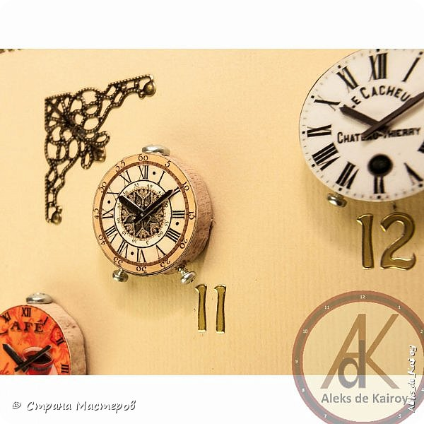 """Доброго всем времени суток. Готова очередная модель часов - """"Модерн"""" Всё как обычно в моём стиле. Скоро выложу ещё одну. Её осталось только сфотографировать нормально. фото 8"""