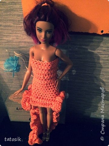 Одежда крючком для Barbie фото 1