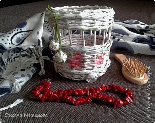 Еще не много нового, маленькие плетёнки под всякую мелочь )) фото 3