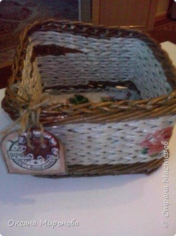 Еще не много нового, маленькие плетёнки под всякую мелочь )) фото 5