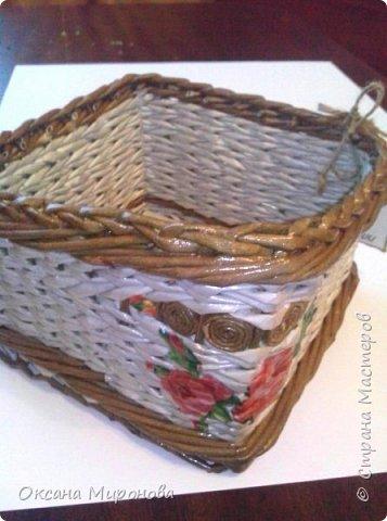 Еще не много нового, маленькие плетёнки под всякую мелочь )) фото 6