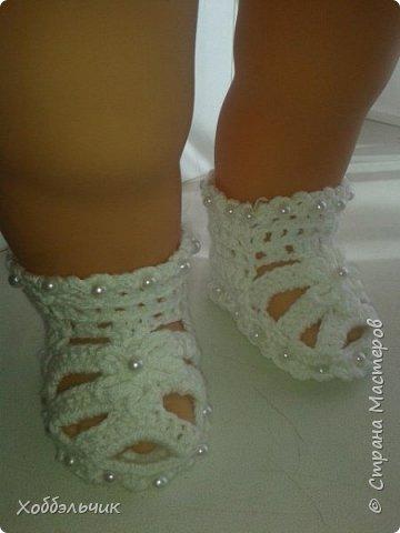 пинетки-сандалики фото 3