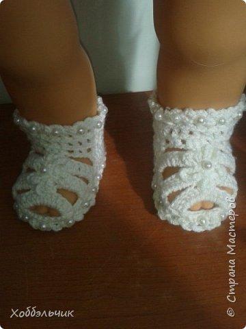 пинетки-сандалики фото 4