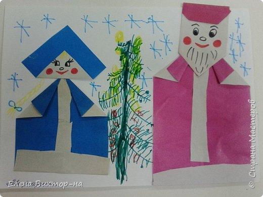 Наша небольшая подборочка (из тех фото,что остались) для ваших приятных воспоминаний о весёлом новом годе.  Такого снеговика сделала для нас семья Артёма Калинина. Детишки были в восторге! фото 9