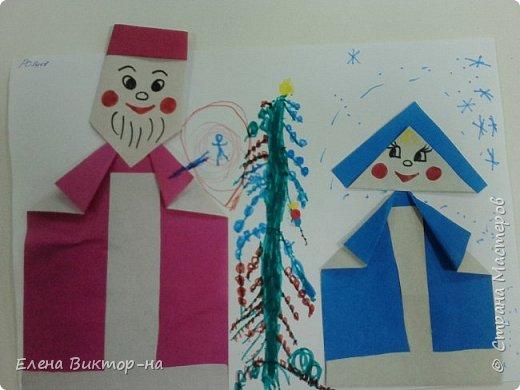 Наша небольшая подборочка (из тех фото,что остались) для ваших приятных воспоминаний о весёлом новом годе.  Такого снеговика сделала для нас семья Артёма Калинина. Детишки были в восторге! фото 10