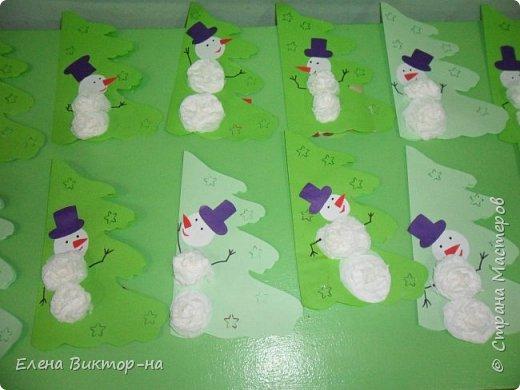 Наша небольшая подборочка (из тех фото,что остались) для ваших приятных воспоминаний о весёлом новом годе.  Такого снеговика сделала для нас семья Артёма Калинина. Детишки были в восторге! фото 5