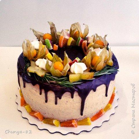 Вот такой яркий с пряничками получился у меня тортик на годовасие одной очень миленькой девчушке ))) фото 3