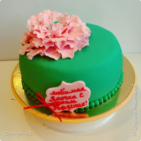 Вот такой яркий с пряничками получился у меня тортик на годовасие одной очень миленькой девчушке ))) фото 22