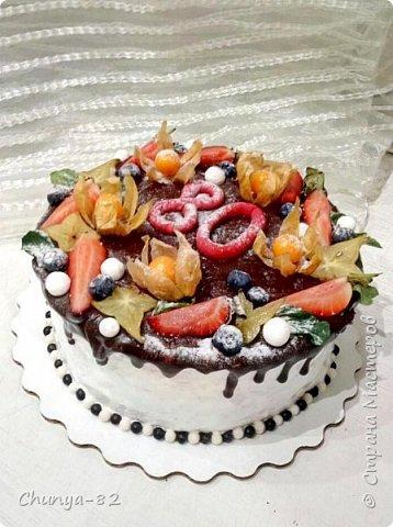 Вот такой яркий с пряничками получился у меня тортик на годовасие одной очень миленькой девчушке ))) фото 9