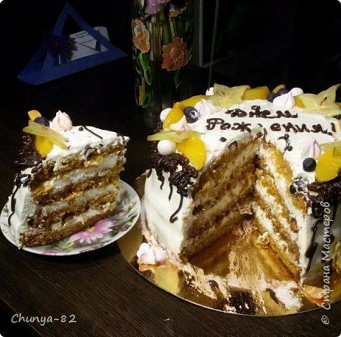 Вот такой яркий с пряничками получился у меня тортик на годовасие одной очень миленькой девчушке ))) фото 5